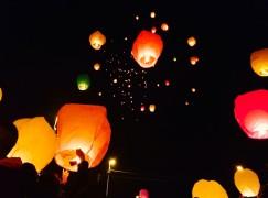 """A San Roberto centinaia di partecipanti a """"La notte delle lanterne"""""""