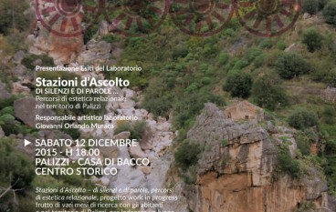 Palizzi, evento del GAL Area Grecanica nel centro storico
