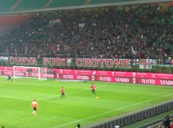 Calcio, sconfitta di misura (1 – 0) per il Crotone in casa dell'Atalanta
