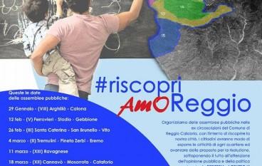 """A Reggio Calabria conferenza stampa """"riscopriAMOReggio"""""""