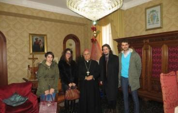 Catanzaro, i giovani di MCL in visita da Mons. Bertolone