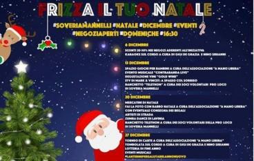 """A Soveria Mannelli """"Frizza il tuo Natale"""""""