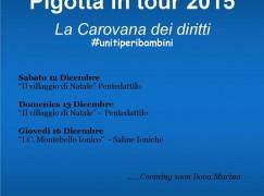 """UNICEF: la """"Pigotta in tour"""" nell'area grecanica"""