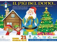 """Isola Capo Rizzuto: tutto pronto per lo spettacolo """"Il più bel dono"""""""