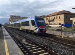 Nuovo treno sulla ferrovia jonica