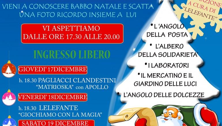 """A Reggio Calabria """"Il piccolo Villaggio di Natale"""""""