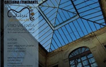 """Vibo Valentia, al Palazzo Gagliardi """"Calabria itinerante"""""""
