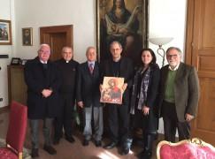 Cosenza, Mons. Nolè ha ricevuto Circolo della Stampa
