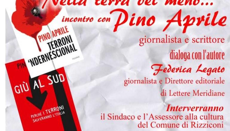 Rizziconi, incontro con il giornalista Pino Aprile