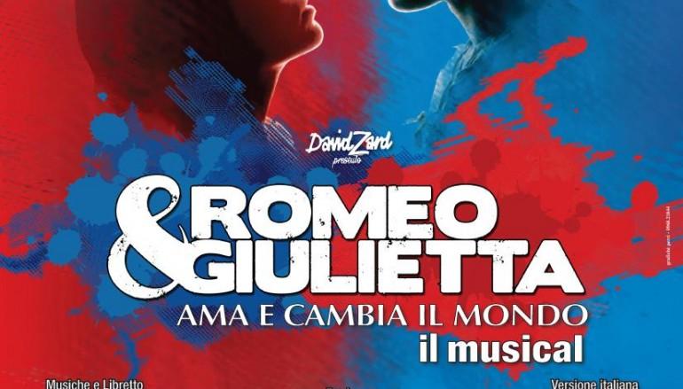 """Al PalaCalafiore il musical """"Romeo e Giulietta"""""""