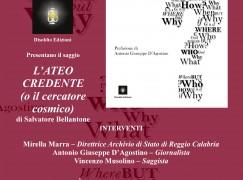 """Reggio Calabria, presentazione libro """"L'ateo Credente"""""""