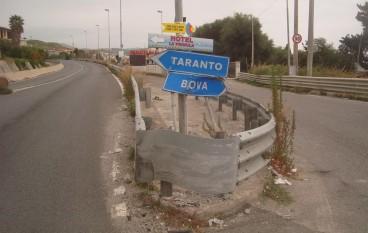 """Bova Marina, Pace e Crea: """"Necessita tempestivo intervento di messa in sicurezza"""""""