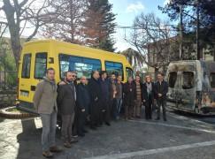 Locri, consegnato scuolabus al Comune di Martone