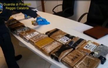 Sequestrata cocaina purissima al Porto Gioia Tauro