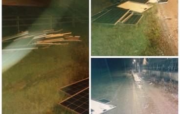 Lamezia Terme, sventato furto in azienda che produce pannelli fotovoltaici