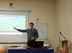 Gianluca Sacchi in visita alla sezione AIA di Locri