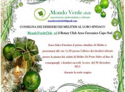 Melito di Porto Salvo, consegna desideri al sindaco Meduri