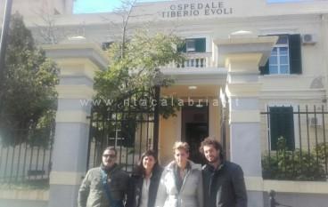 Melito, visita ispettiva di Nesci e Dieni (M5s) al Tiberio Evoli