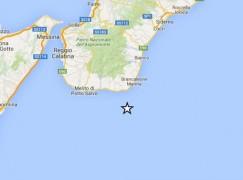 Terremoto al largo della costa ionica