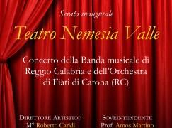 Reggio Calabria, inaugurazione del Teatro Nemesia Valle