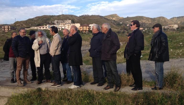 Lazzaro, tecnici provinciali nel torrente San Vincenzo
