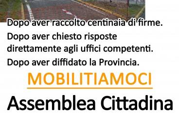 Cosenza, SP 188 chiusa: indetta assemblea cittadina