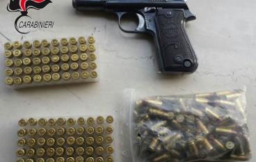Rinvenute armi e droga a Gallina, 5 arresti dei Carabinieri