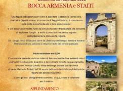 Staiti, escursione a Rocca Armenia e Chiesa dei Tridetti