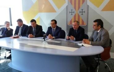 Catanzaro, il Presidente Bruno ha ospitato Dimitry Gurin