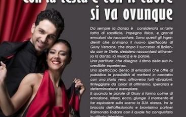 Giusy Versace e Raimondo Todaro ballano a Vigevano
