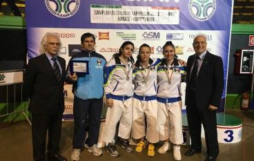 Kata, tre melitesi ai campionati europei in Turchia