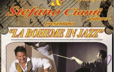 """Palmi,  """"La Bohème in jazz"""" con Riccardo Arrighini e Stefano Cianti"""