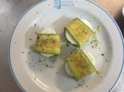 Rotolo di zucchine con cacioricotta
