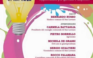 """Chorio di San Lorenzo, al via evento """"Cantieri di Imprese"""""""