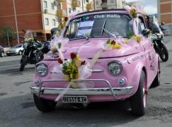 A Reggio sfilano le 500 nella giornata dedicata alle donne