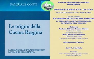 Reggio Calabria, il Cis presenta il libro di Pasquale Conti