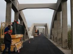 Catanzaro, riaperto il ponte sul fiume Ancinale