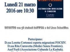 Longobucco, al via settimana d'azione contro il Razzismo