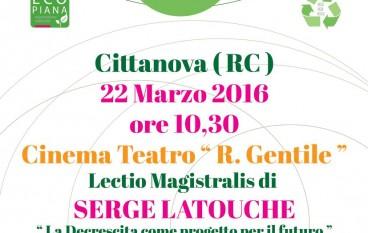 Cittanova, Piana Eco Festival – lectio magistralis di Latouche