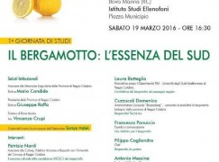A Bova Marina un evento dedicato al bergamotto