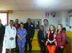 Rossano, Fidelitas dona quadro al Pronto Soccorso