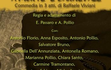 """Al """"Grandinetti"""" di Lamezia in scena """"A morte 'e Carnevale"""""""