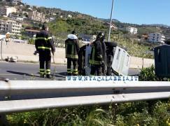 Incidente stradale ad Arangea, FOTO