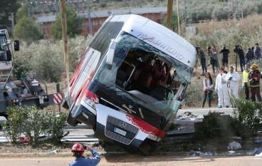 Incidente autobus in Spagna, tra i feriti una calabrese