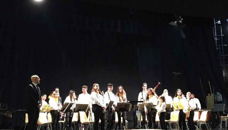 """A Lamezia Terme il successo della """"Jugend Band"""" di Euterpe"""
