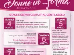 """Reggio Calabria, Poseidon Club organizza """"Donne in.. forma"""""""