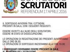 Locri, selezione scrutatori per il prossimo Referendum