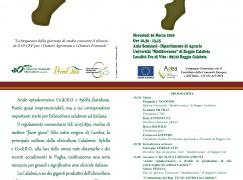 Reggio, alla facoltà di Agraria dibattito sull'olivo e la Calabria