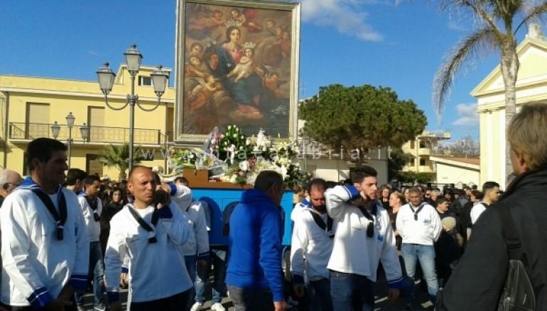 Foto Processione in onore di Maria SS di Porto Salvo