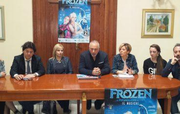 """Presentato a Palazzo San Giorgio il musical """"Frozen"""""""